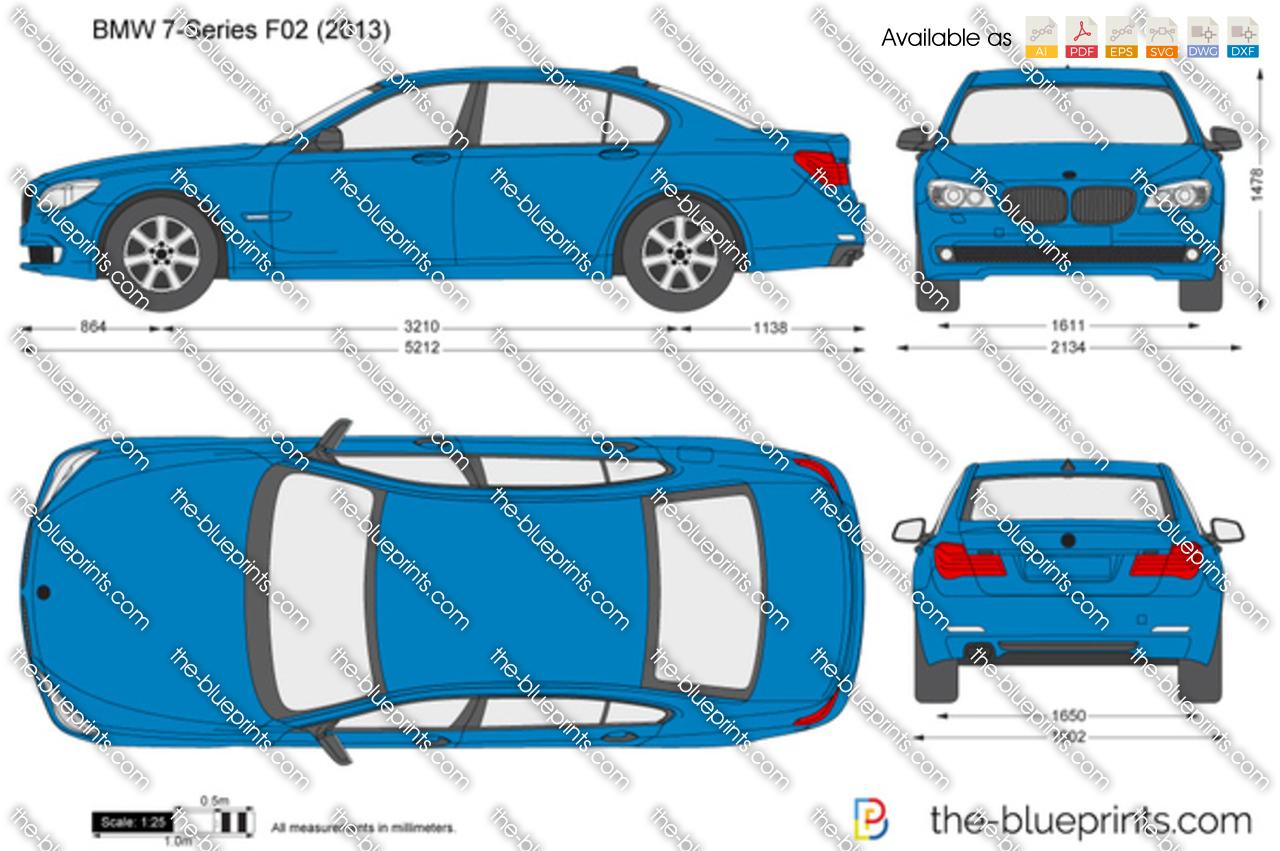 BMW 7-Series F02 2014