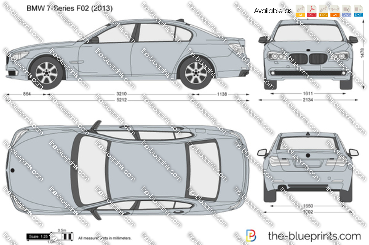 BMW 7-Series F02 2015