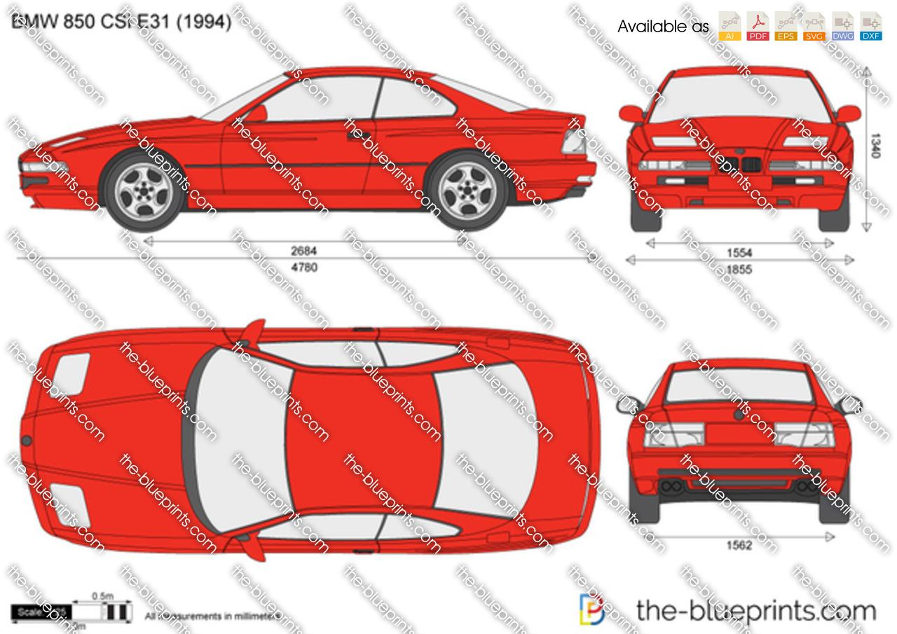 BMW 850 CSi E31 1998