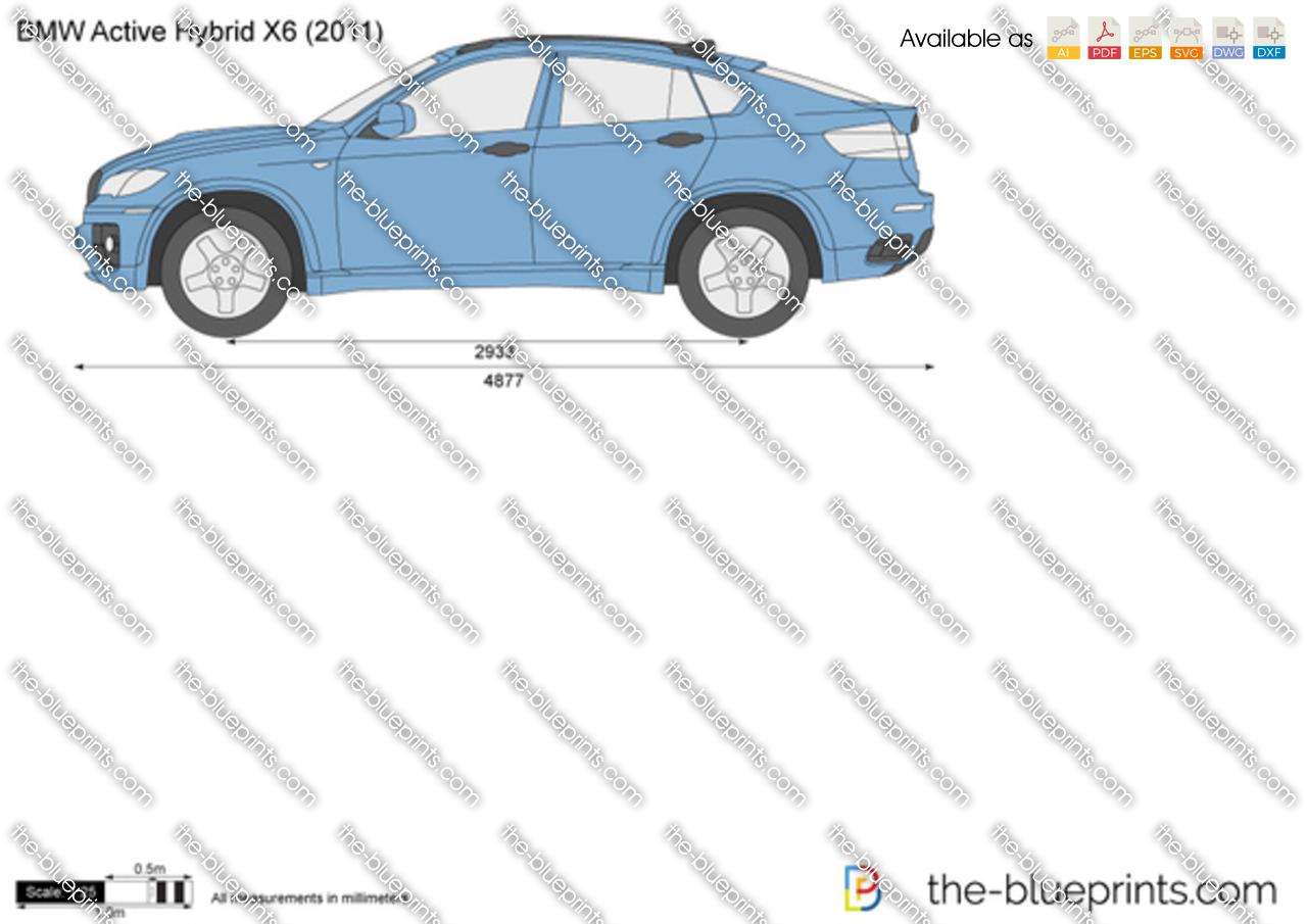 BMW ActiveHybrid X6 2013