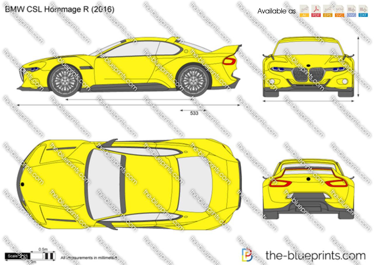 BMW CSL Hommage R
