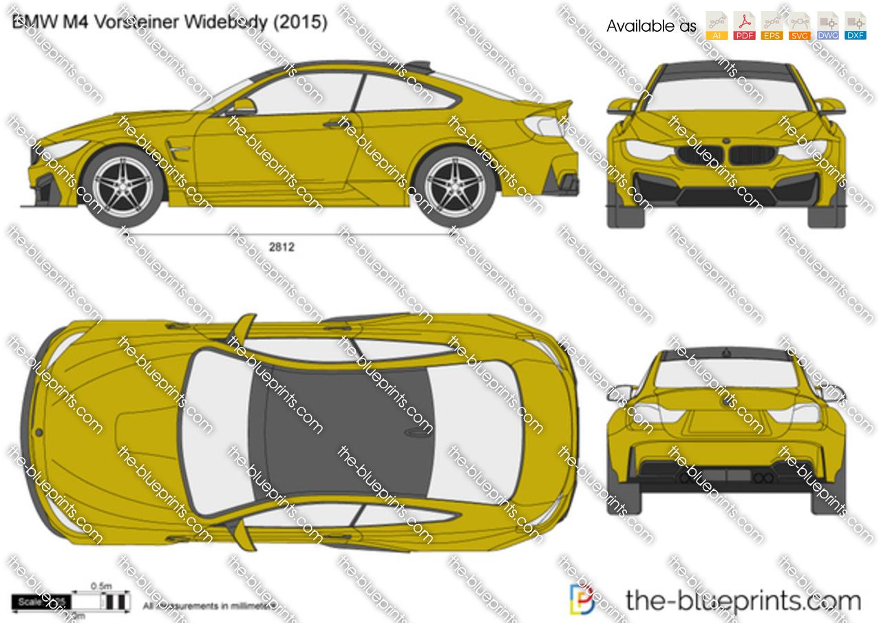 BMW M4 Vorsteiner Widebody F82