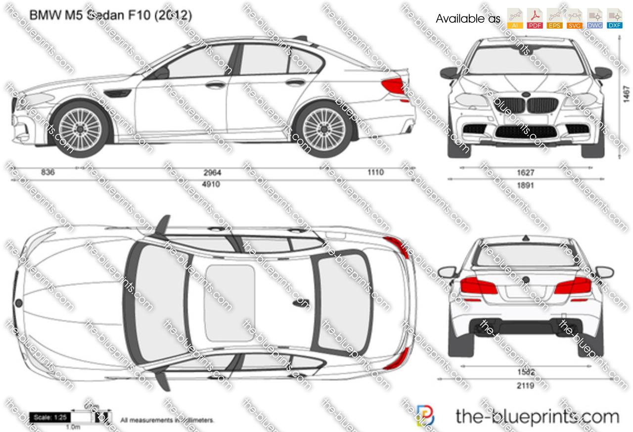 BMW M5 Sedan F10 2015