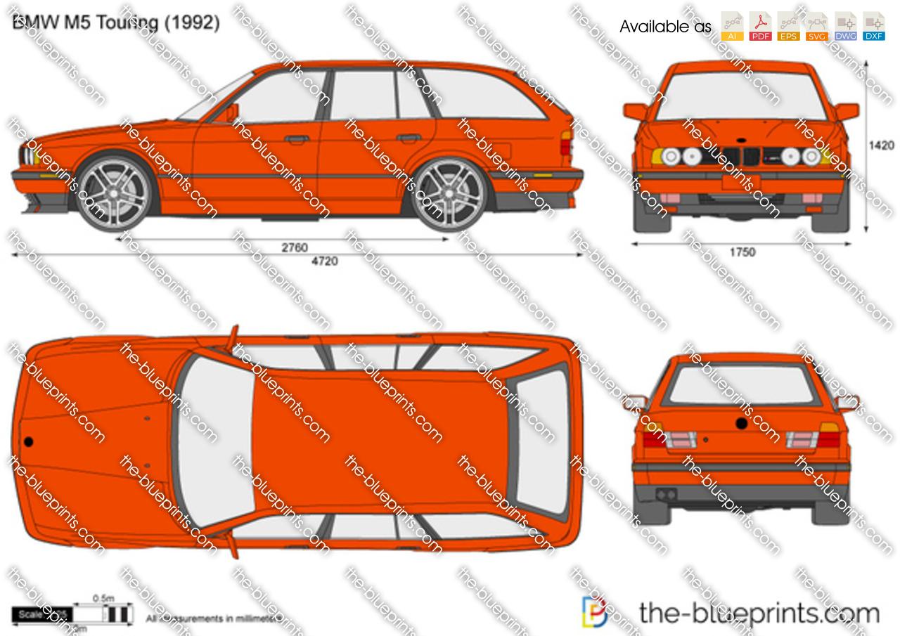 BMW M5 Touring E34