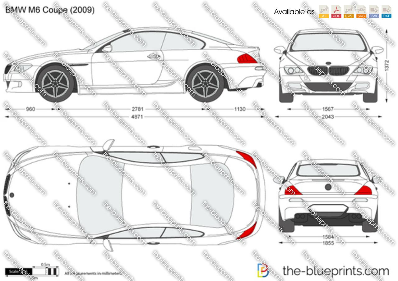 BMW M6 Coupe E63 2005