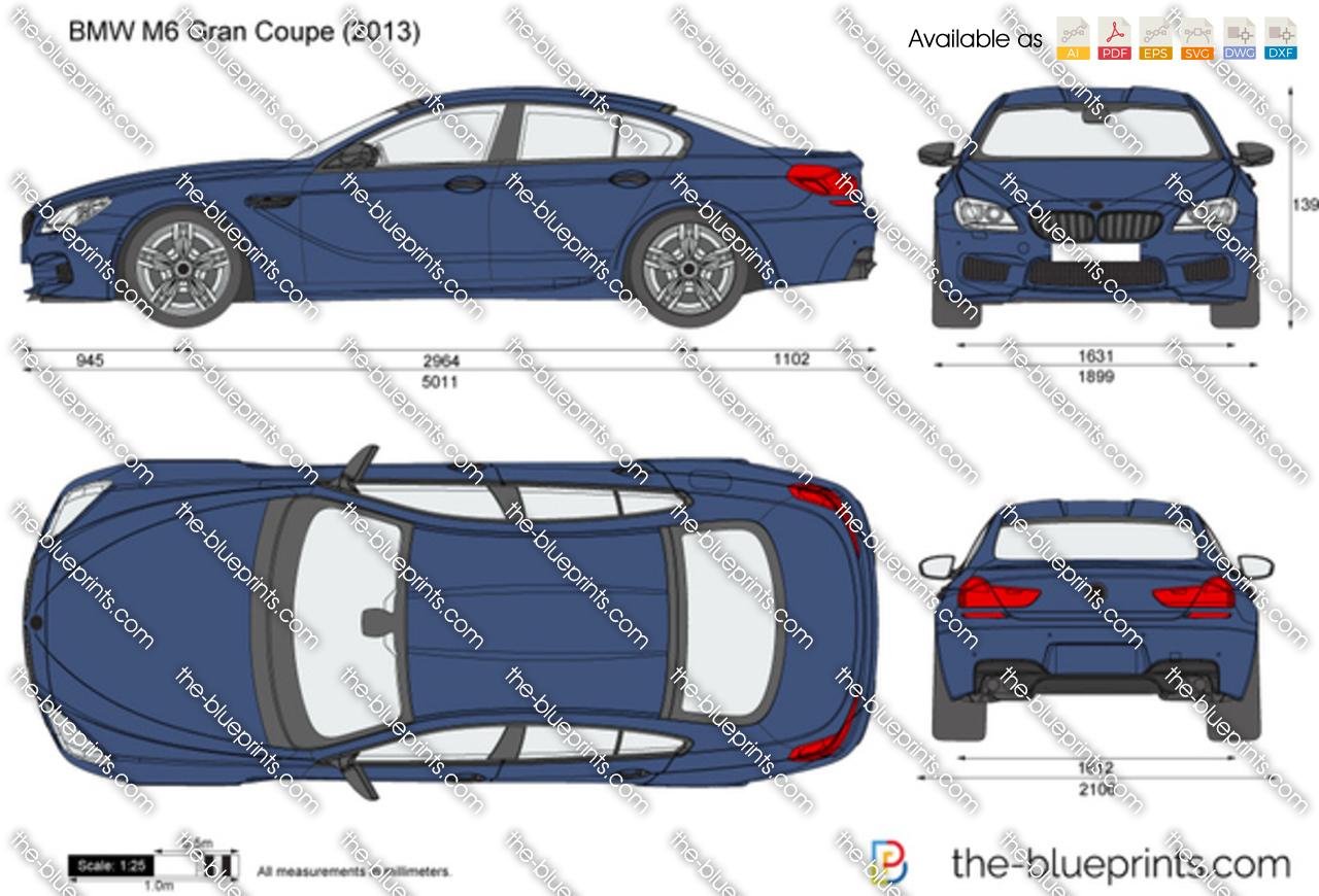 BMW M6 Gran Coupe F06 2014