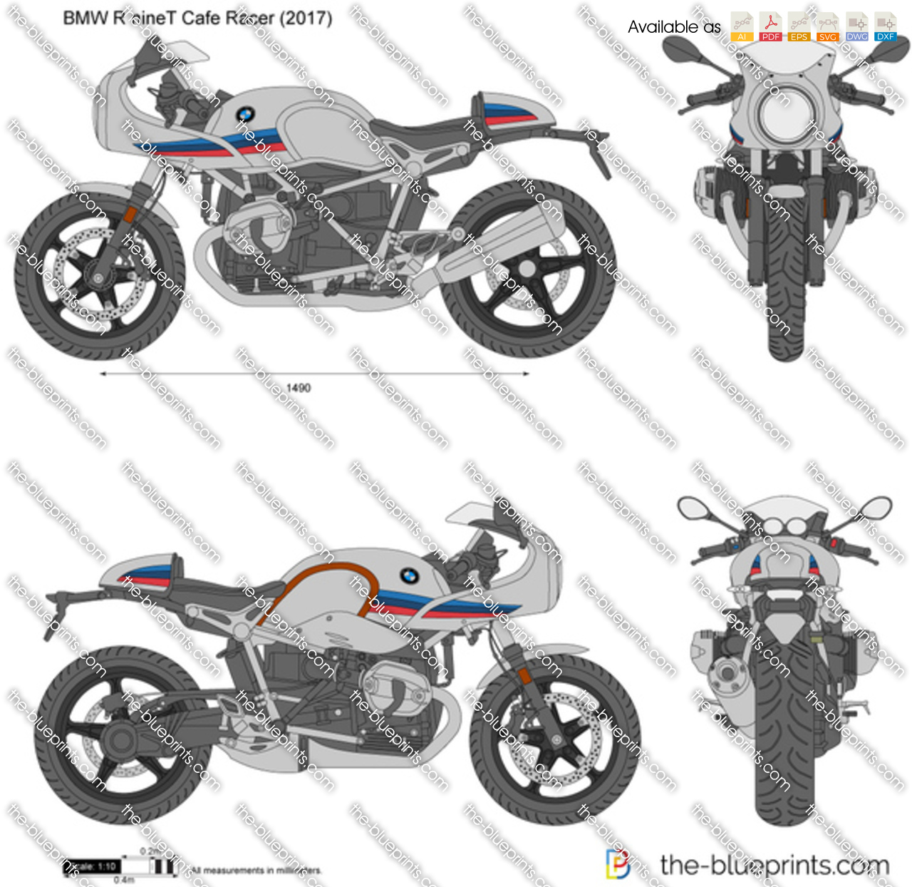 BMW R nineT Cafe Racer 2019