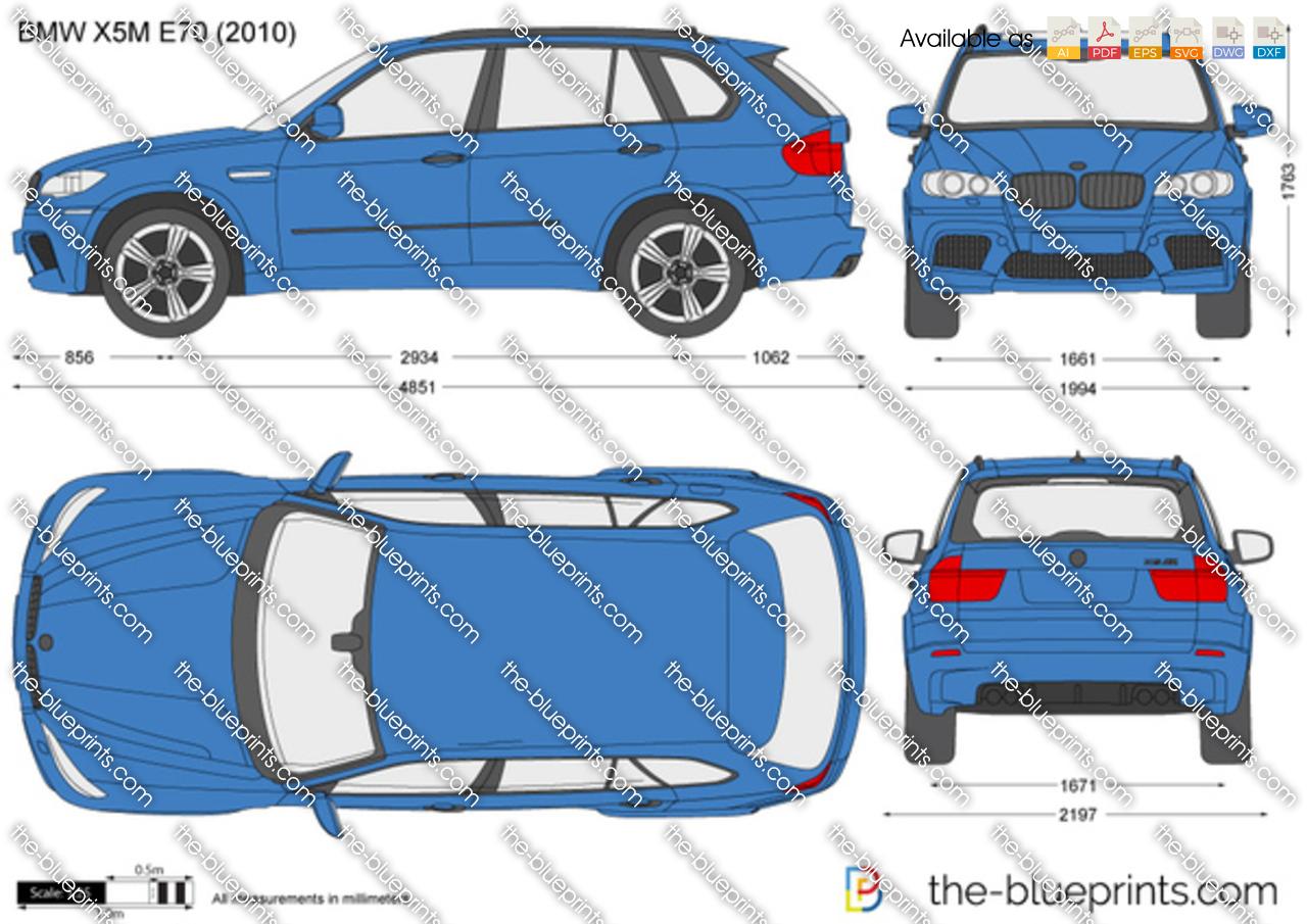 BMW X5M E70 2012