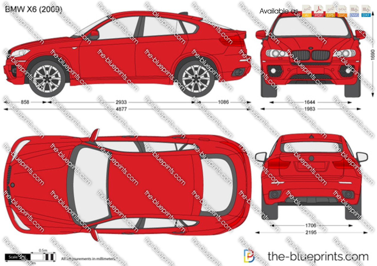 bmw x6 e71 vector drawing. Black Bedroom Furniture Sets. Home Design Ideas