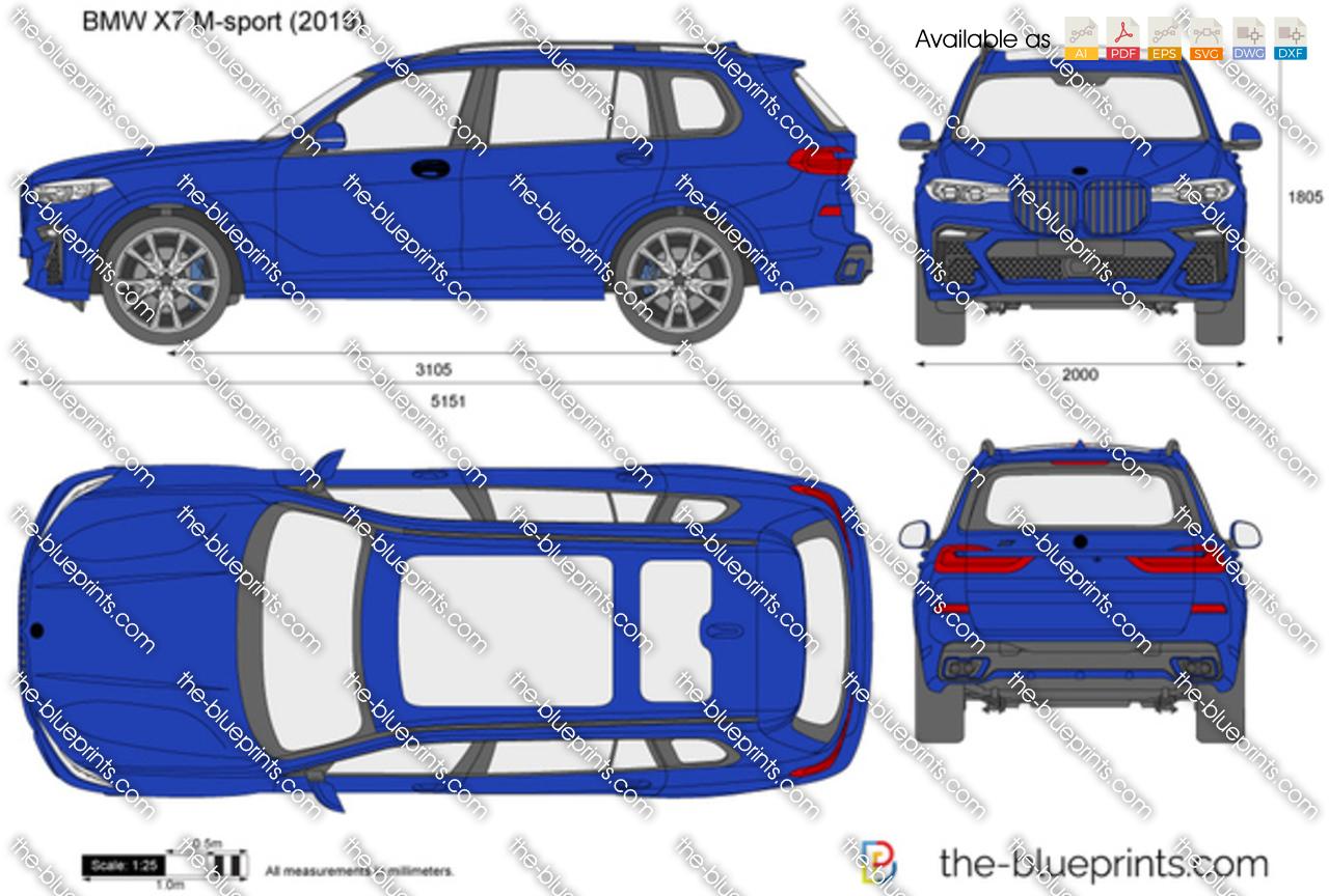 BMW X7 M-sport G07