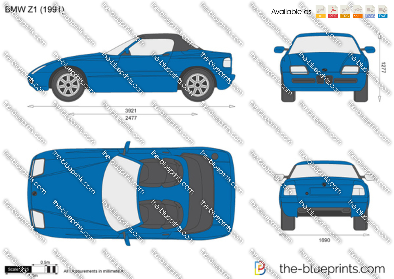 the vector drawing bmw z1 e30. Black Bedroom Furniture Sets. Home Design Ideas