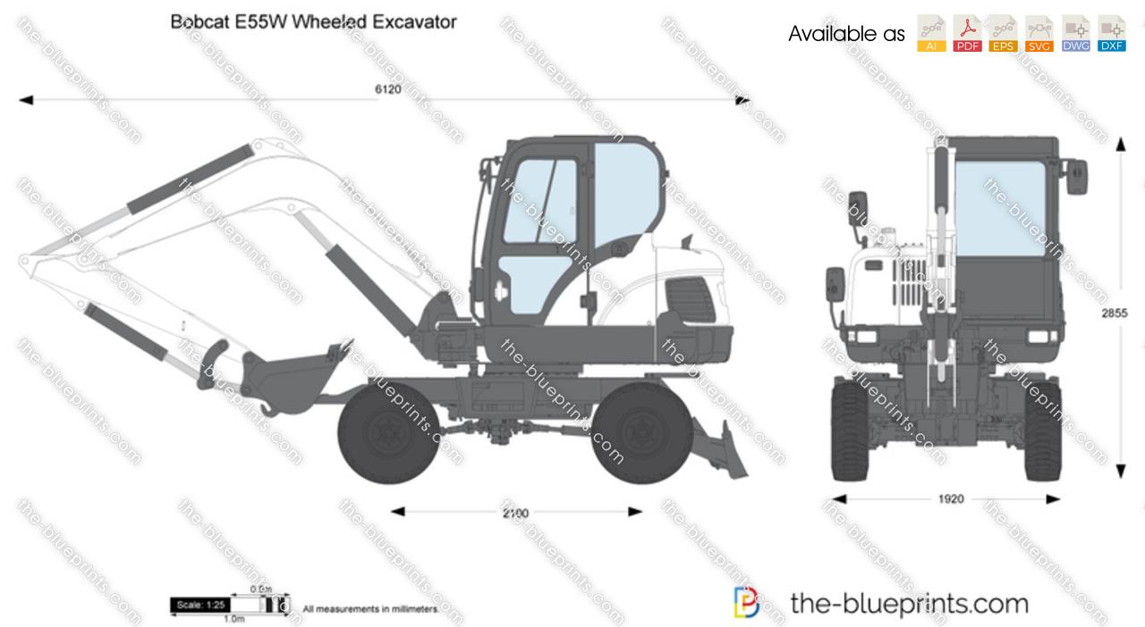 Bobcat Loader Blueprint – Wonderful Image Gallery