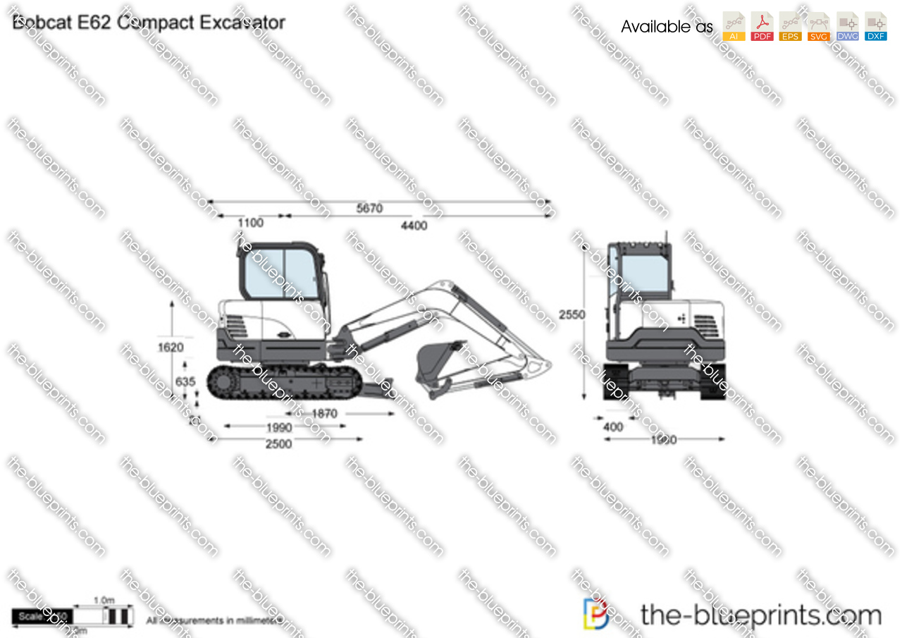 Bobcat E62 Compact Excavator