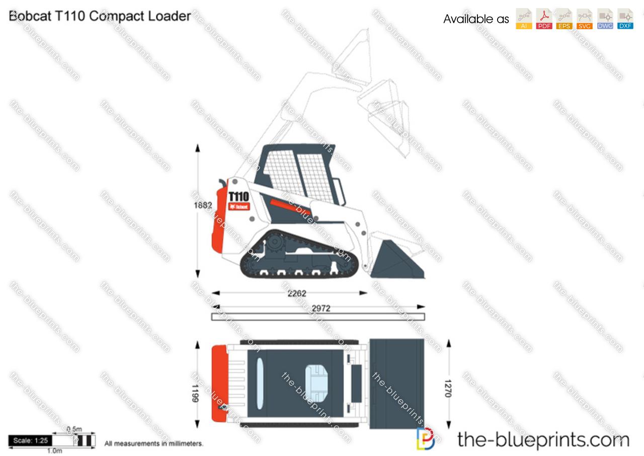 Bobcat T110 Compact Loader