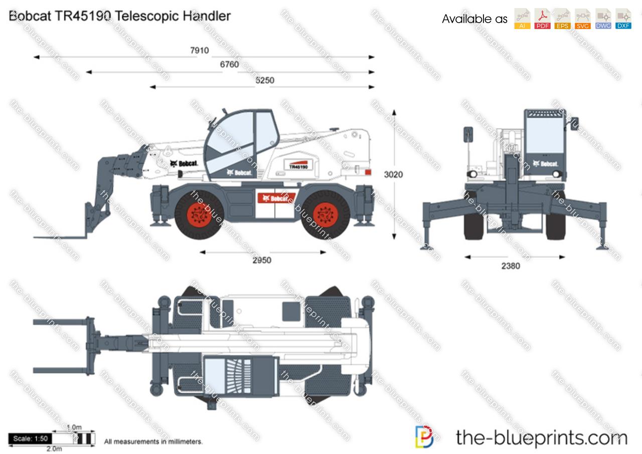 Bobcat TR45190 Telescopic Handler