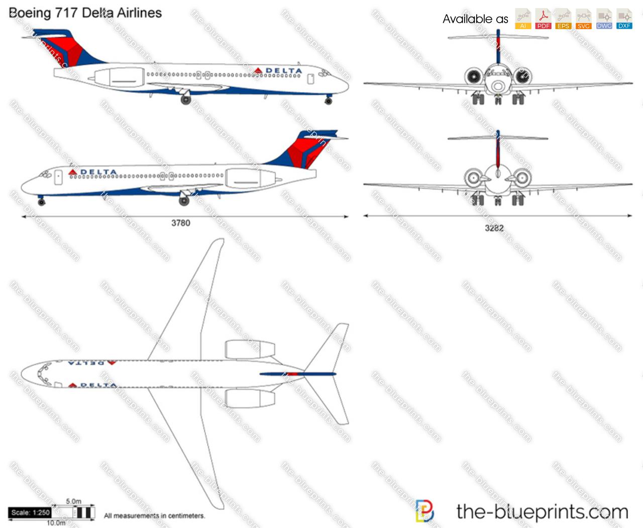 Boeing 717 Delta Airlines