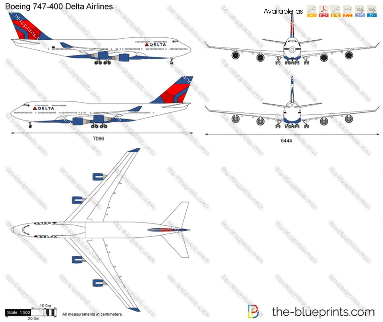 Boeing 747-400 Delta Airlines