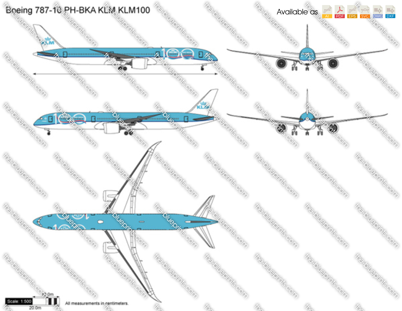 Boeing 787-10 PH-BKA KLM KLM100