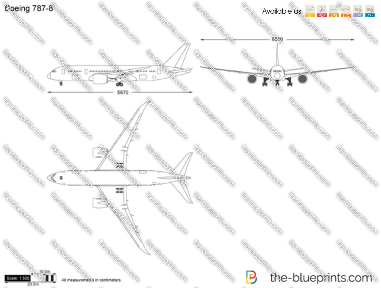 Boeing 787 8 vector drawing for Where to get blueprints