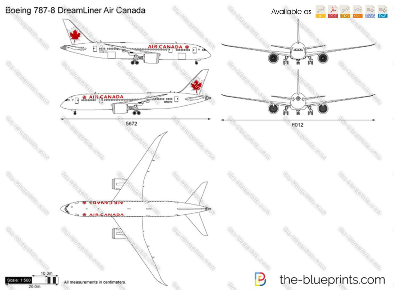 Boeing 787-8 DreamLiner Air Canada