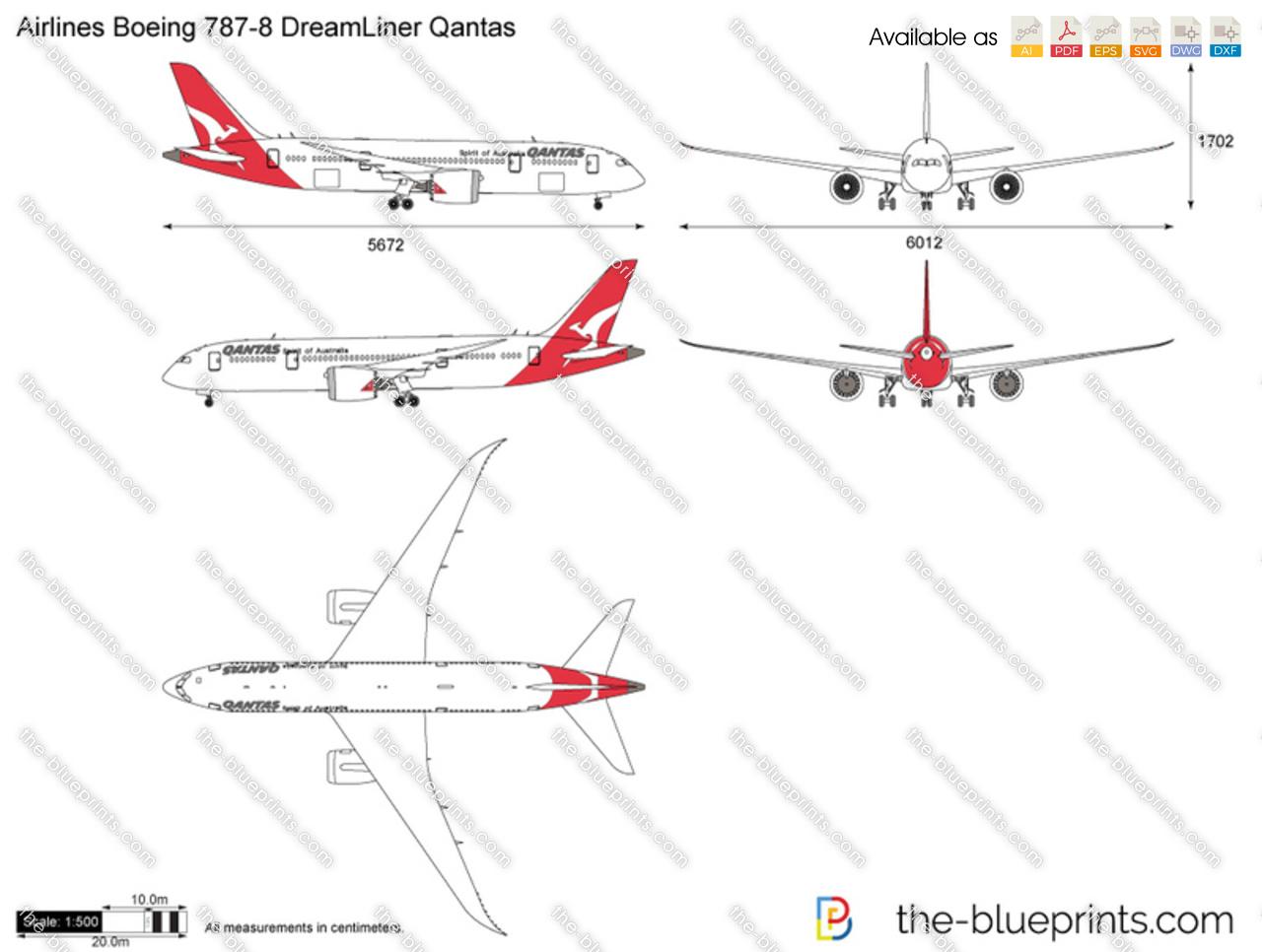 Boeing 787-8 DreamLiner Qantas