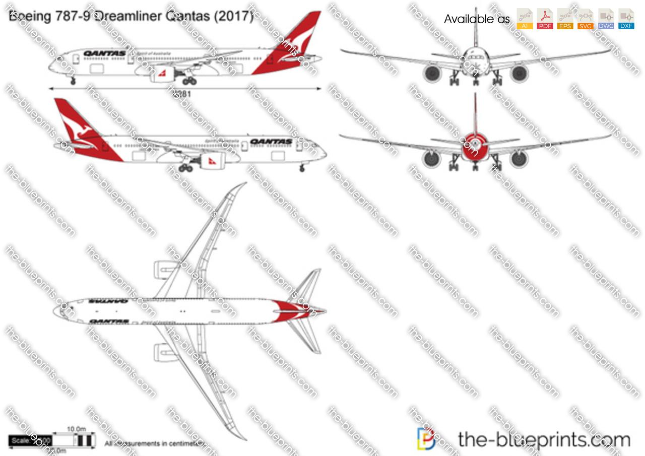 Boeing 787-9 Dreamliner Qantas 2018