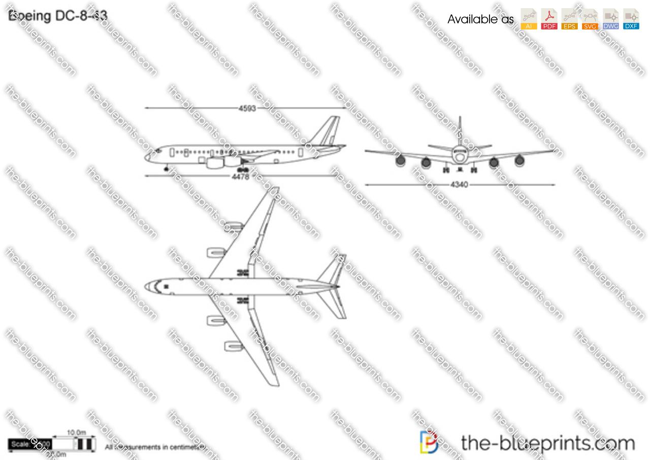 Boeing DC-8-43