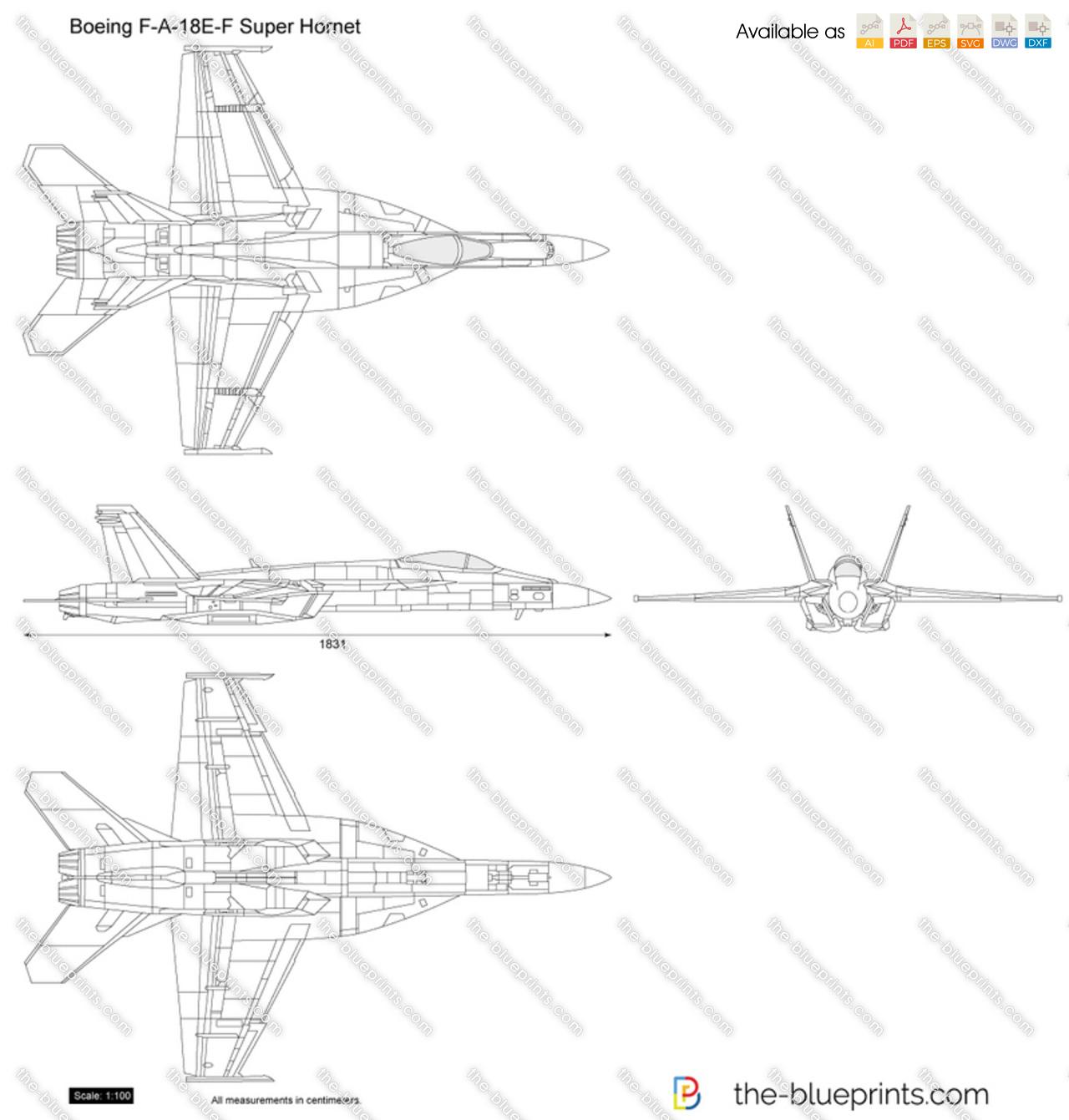 Boeing F-A-18E-F Super Hornet