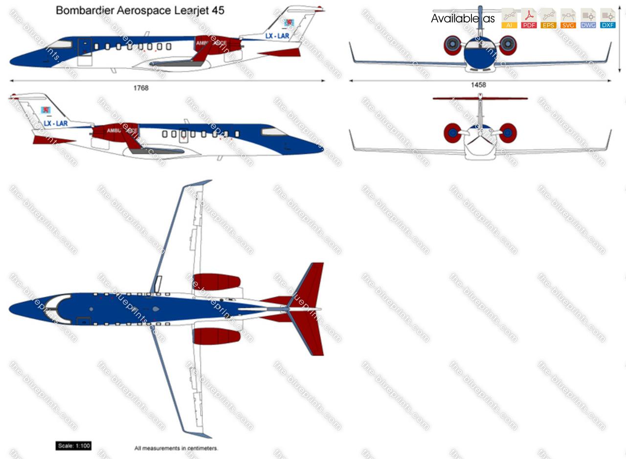 Bombardier Aerospace Learjet 45