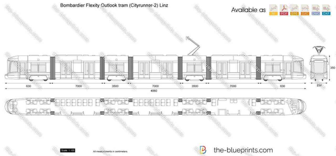 Bombardier Flexity Outlook tram (Cityrunner-2) Linz