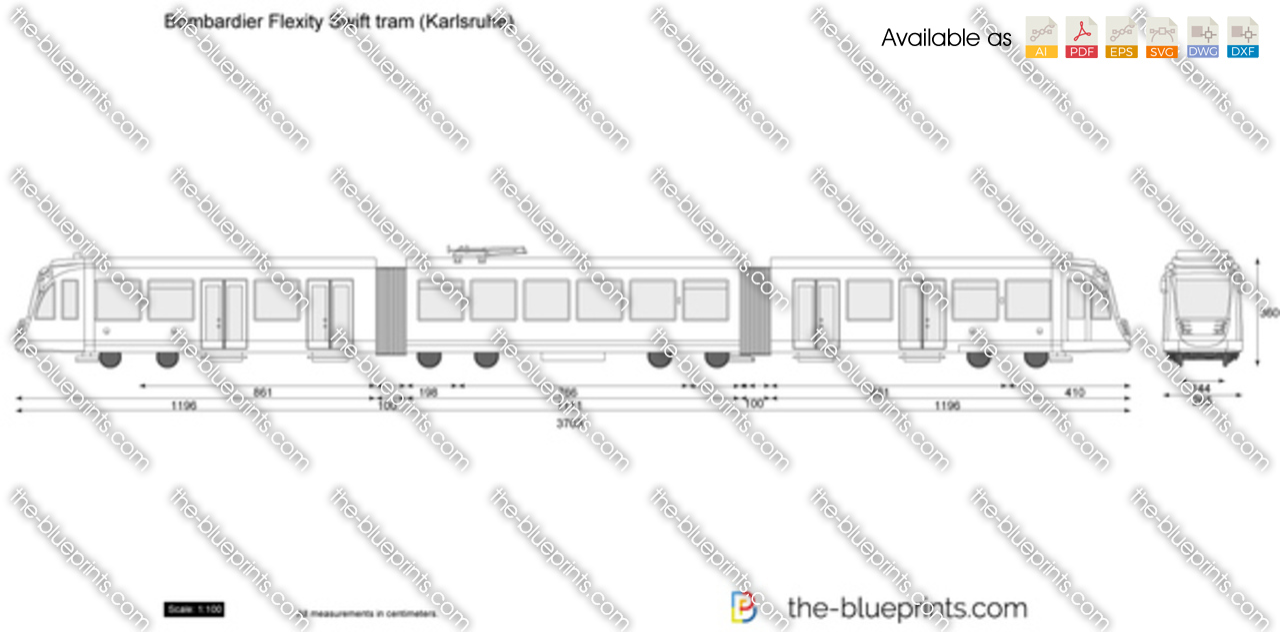 Bombardier Flexity Swift tram (Karlsruhe)