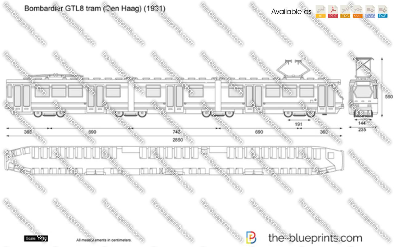 Bombardier GTL8 tram (Den Haag)