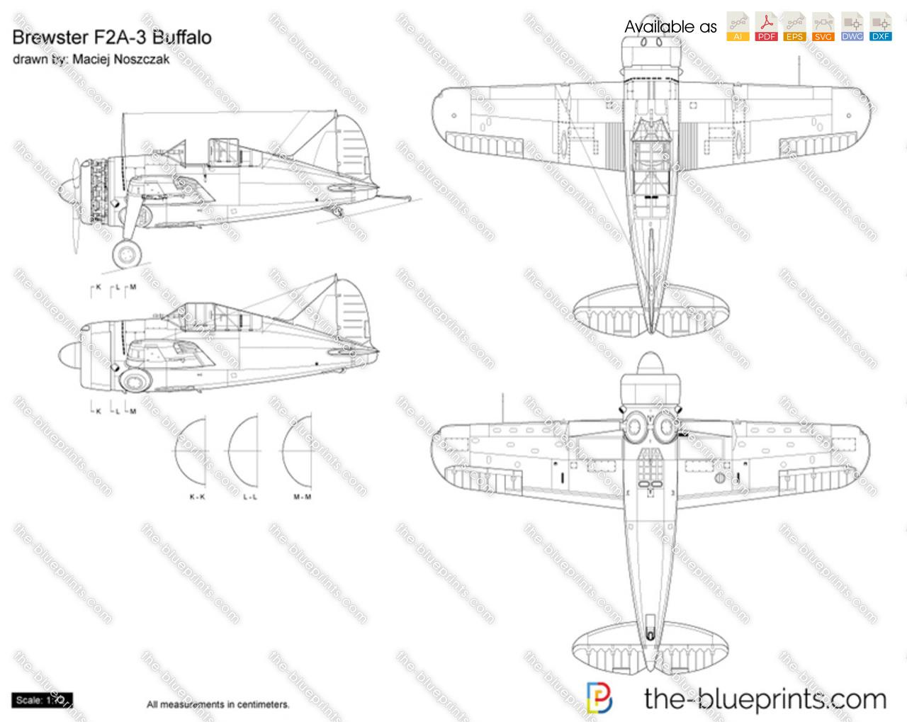 Brewster F2A-3 Buffalo