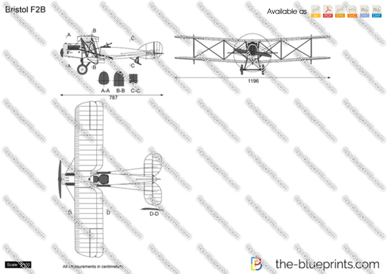 Bristol f2b vector drawing model years malvernweather Gallery