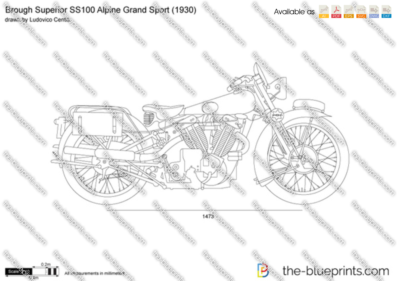 Brough Superior SS100 Alpine Grand Sport