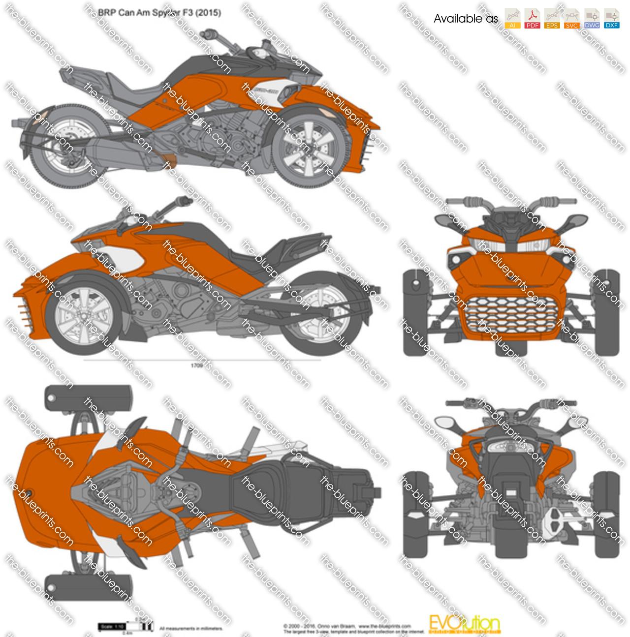 BRP Can Am Spyder F3 2016