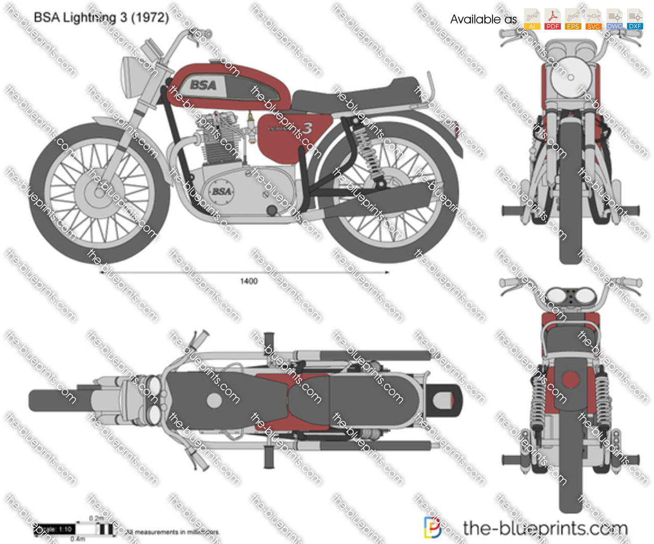 BSA Lightning 3