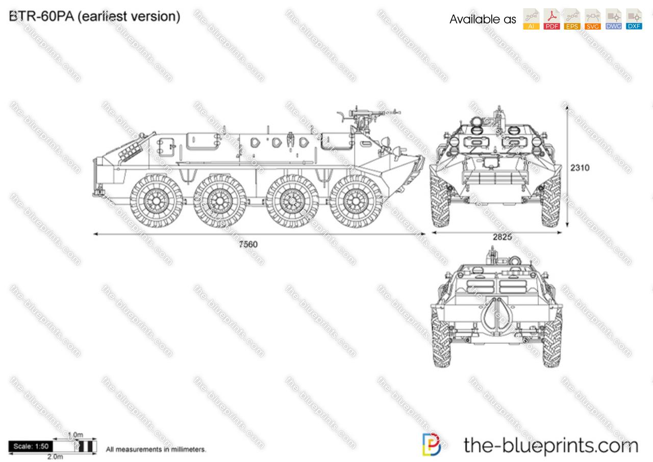 BTR-60PA (earliest version)