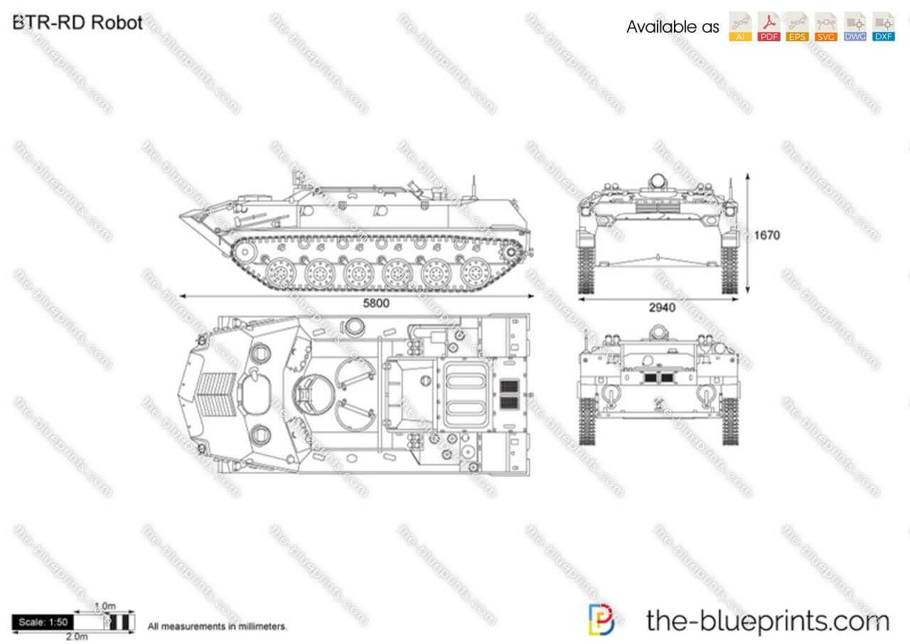 BTR-RD Robot