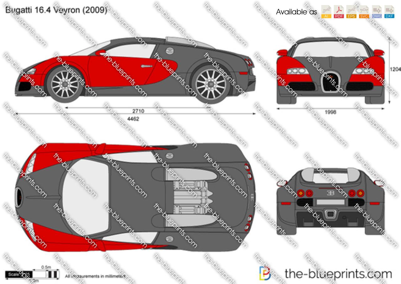 Bugatti 16-4 Veyron 2005