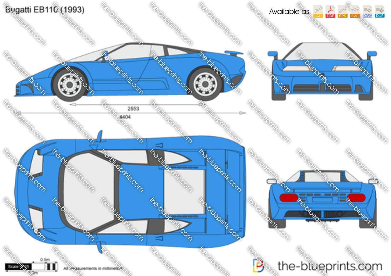 Bugatti EB110 1992
