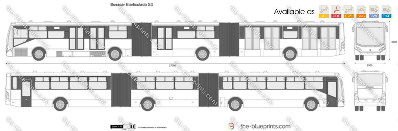 Busscar Biarticulado S3