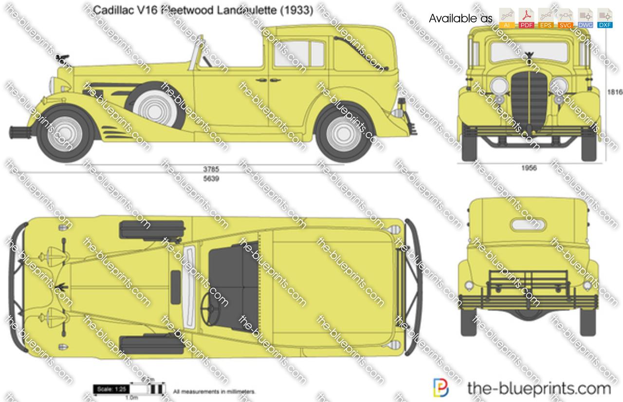 Cadillac V16 Fleetwood Landaulette