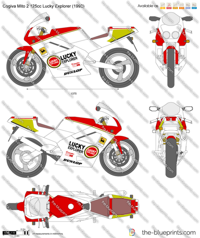 Cagiva Mito 2 125cc Lucky Explorer