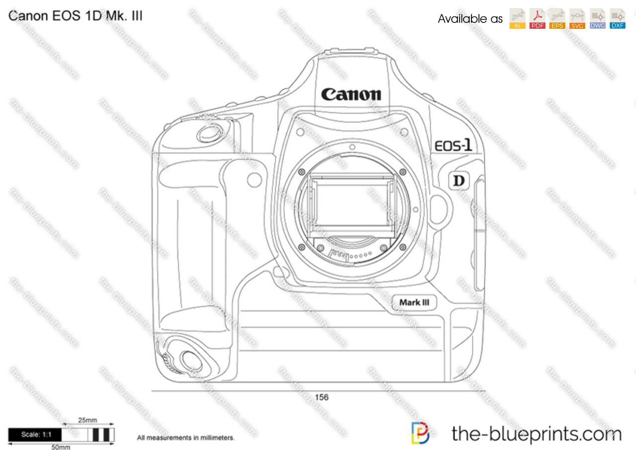 Canon EOS 1D Mk. III