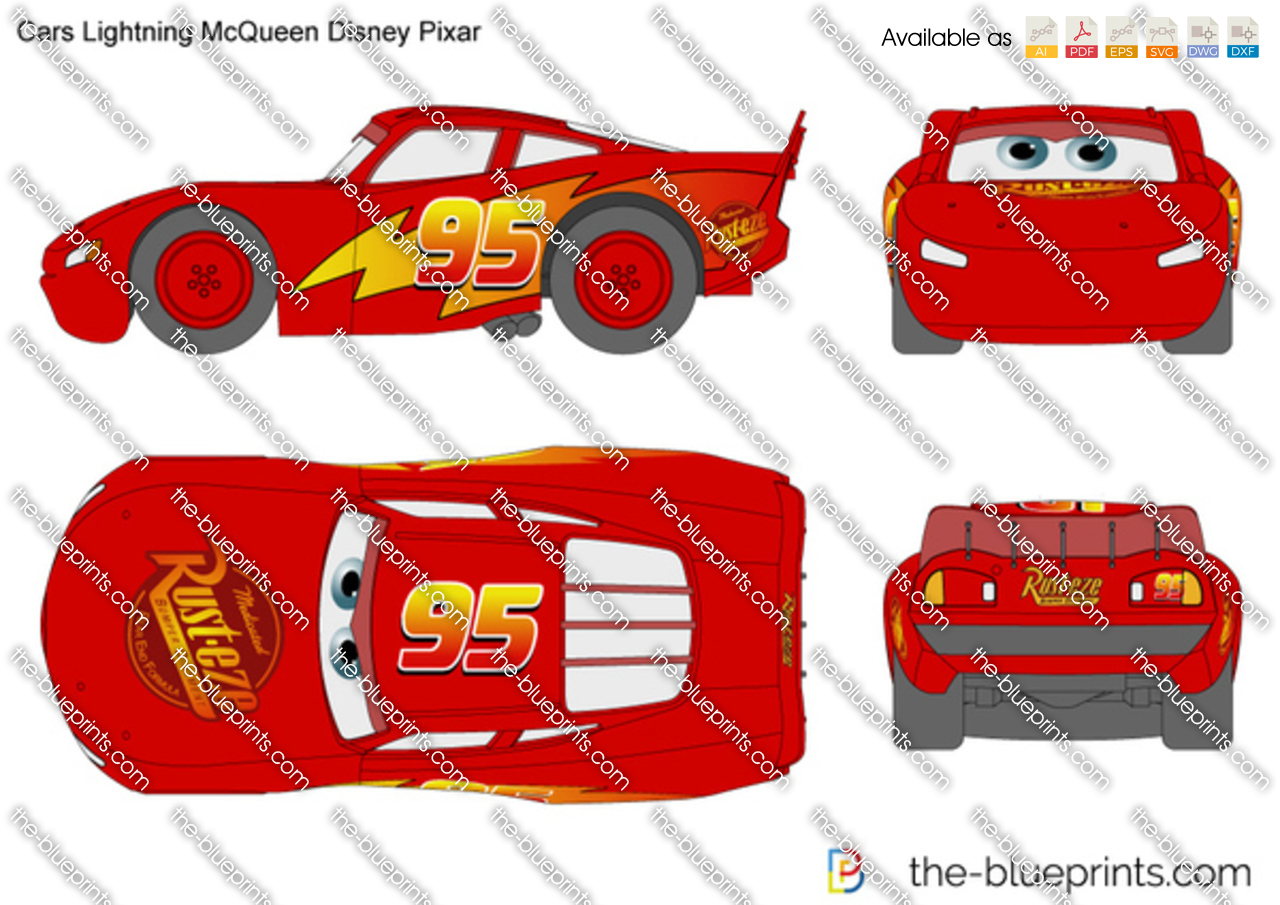 Cars Lightning McQueen Disney Pixar