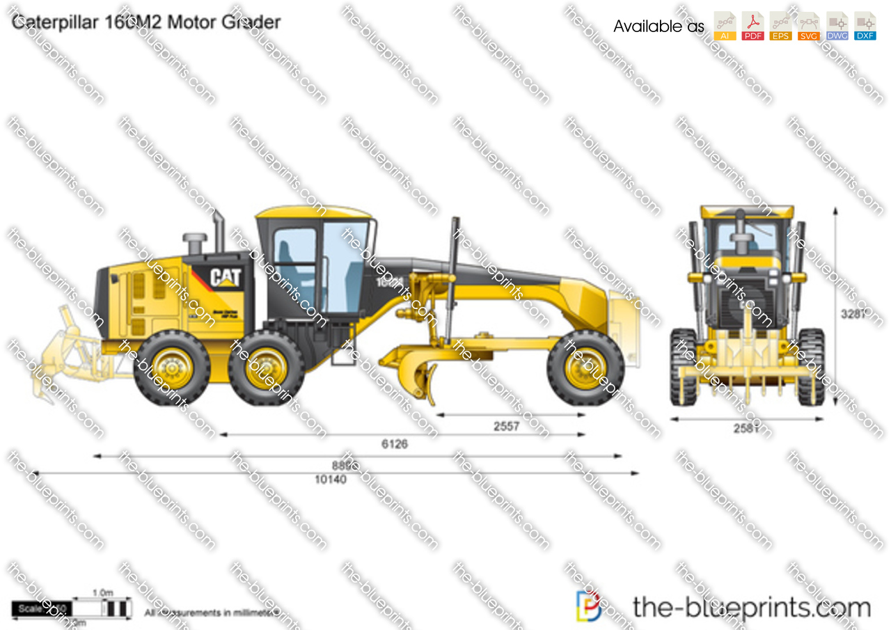 Caterpillar 160M2 Motor Grader