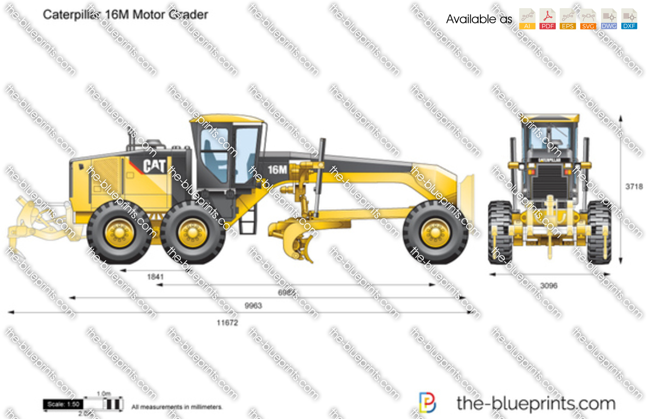 The Vector Drawing Caterpillar 16m