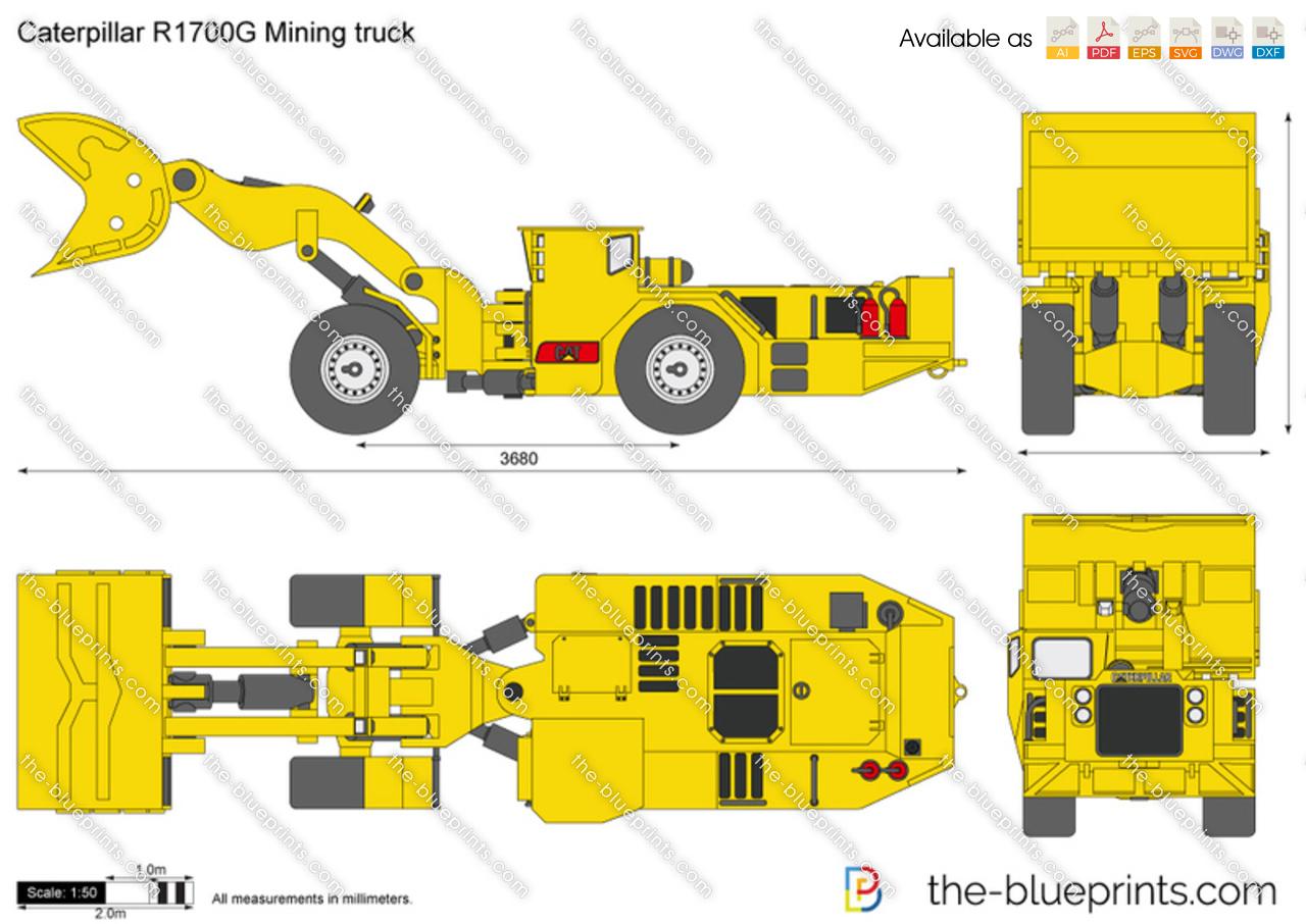 Caterpillar 1700 G Mining truck