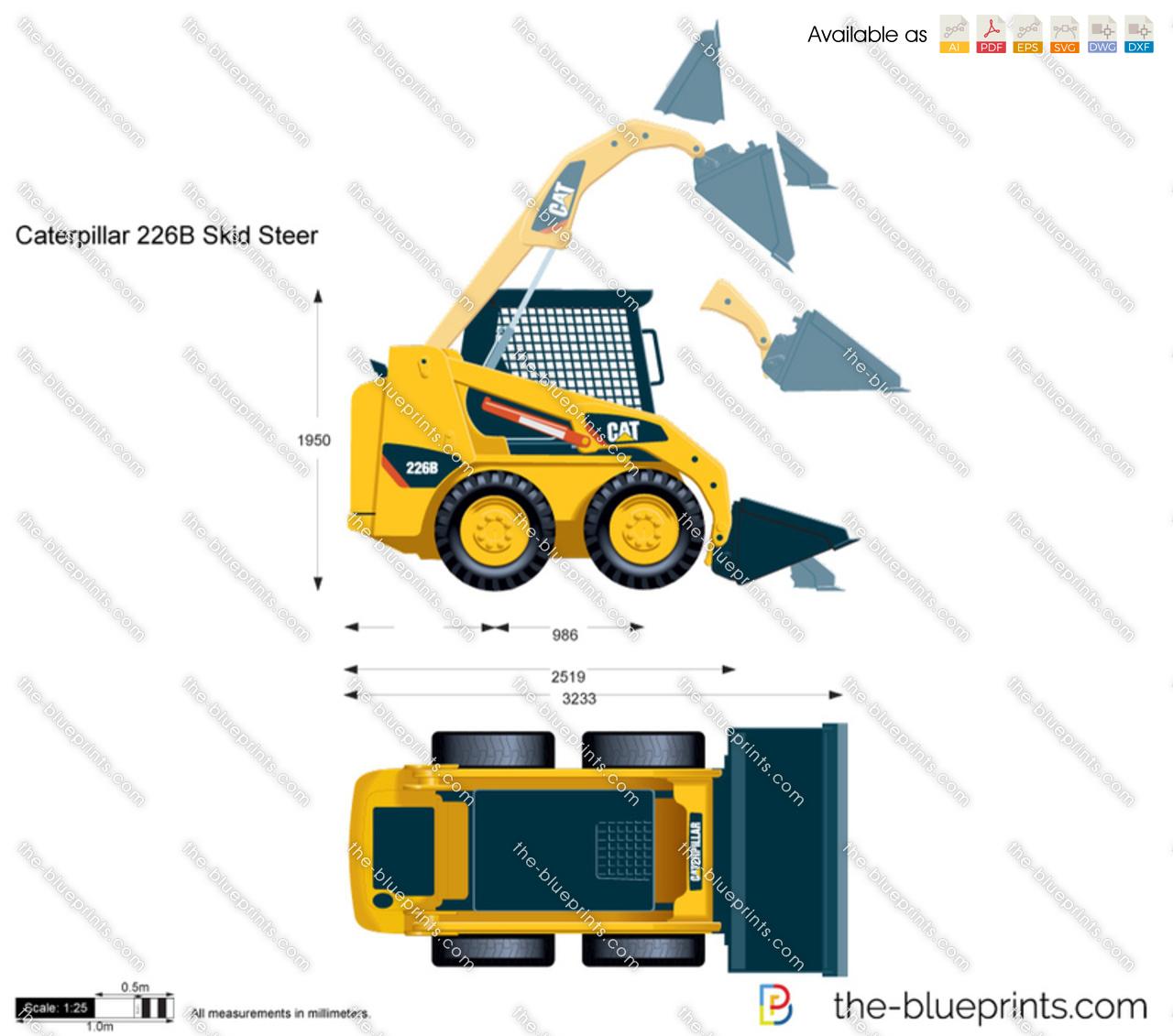 Caterpillar 226B Skid Steer Loader